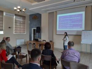 Активістка центру Марія Іщенко виступила з лекцією «Громадський бюджет від А до Я»