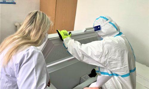 Працівників та мешканців інтернатів Вінниччини щеплювали від COVID-19 вакциною Pfizer-BioNTech